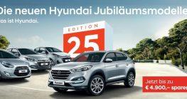 Hyundai Edition25! Sondermodelle