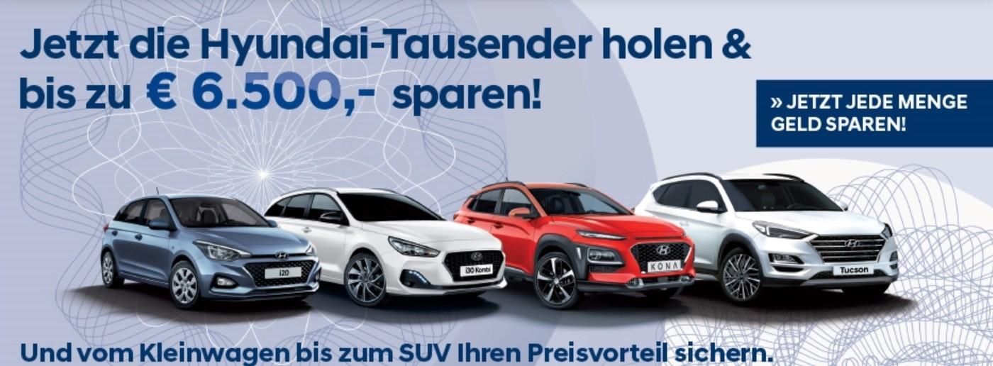 Hyundai Tausender bei Autohaus Knoll in Langenwang und Kapfenberg