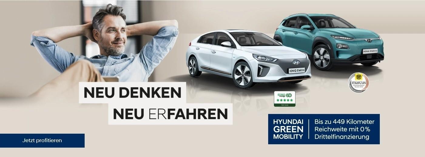 Hyundai Neu Denken bei Autohaus Knoll in Langenwang und Kapfenberg