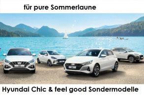 Hyundai Chic & feel good Sondermodelle