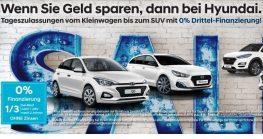 Hyundai 0 % Drittel-Finanzierung