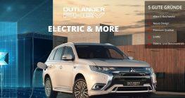 Der neue Mitsubishi Outlander PHEV