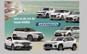 Jetzt ist die Zeit für Suzuki HYBRID
