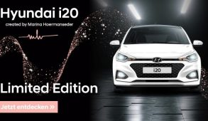 Hyundai i20 Limited Edition created by Marina Hoermanseder