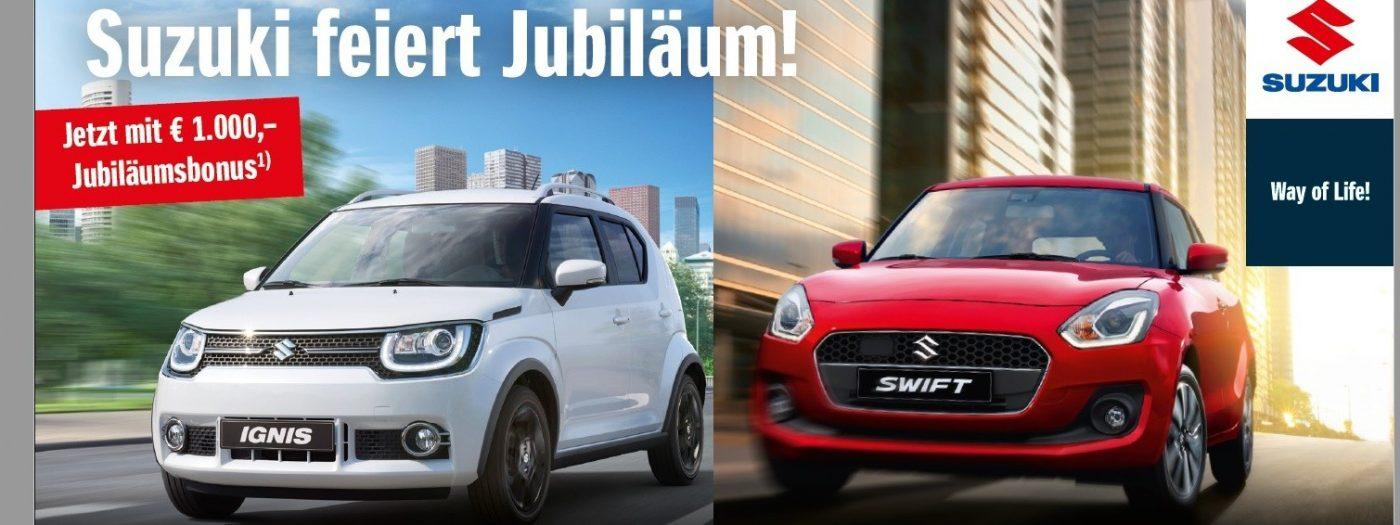 Suzuki Swift Jub bei Autohaus Knoll in Langenwang und Kapfenberg
