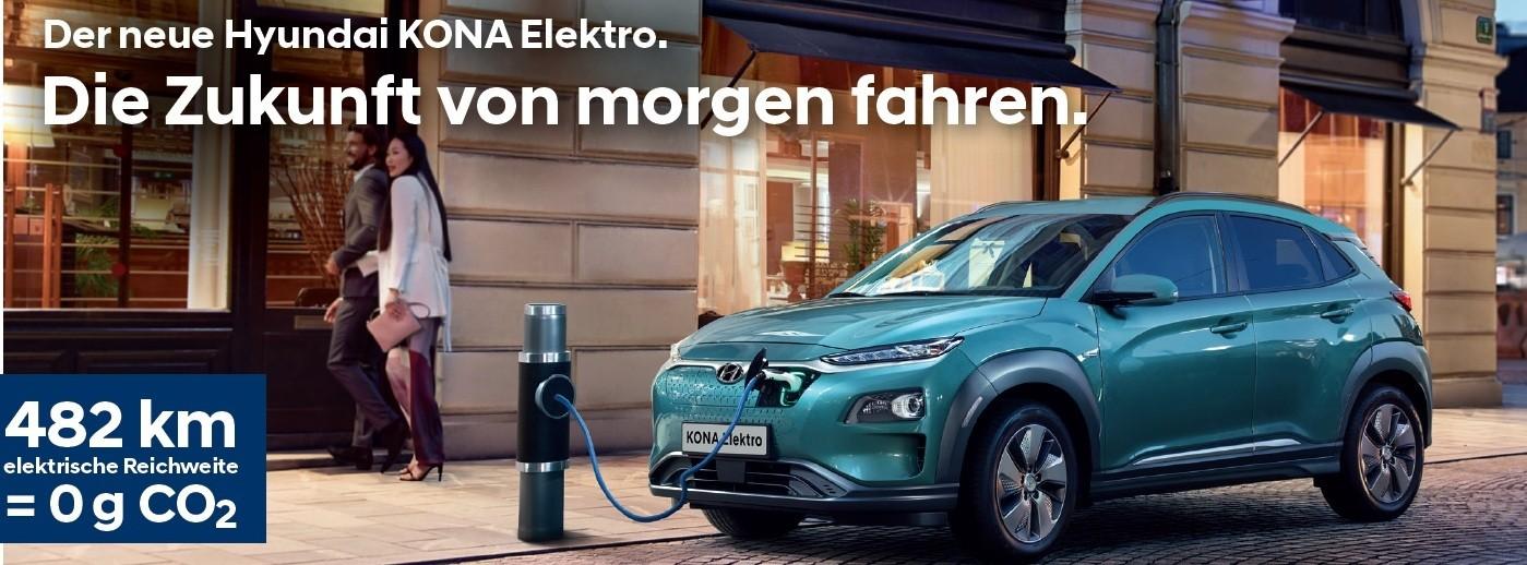 Hyundai Kona Elektro bei Autohaus Knoll in Langenwang und Kapfenberg