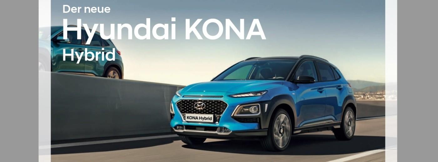 Hyundai Kona Hybrid bei Autohaus Knoll in Langenwang und Kapfenberg