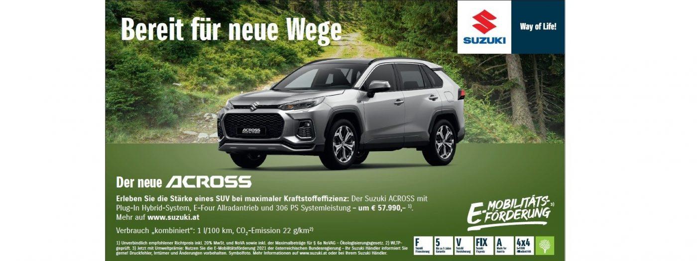 ACross bei Autohaus Knoll in Langenwang und Kapfenberg