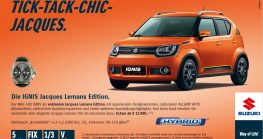 Suzuki IGNIS Jacques Lemans Edition