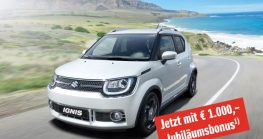 € 1.000,- Suzuki Ignis Jubiläumsbonus