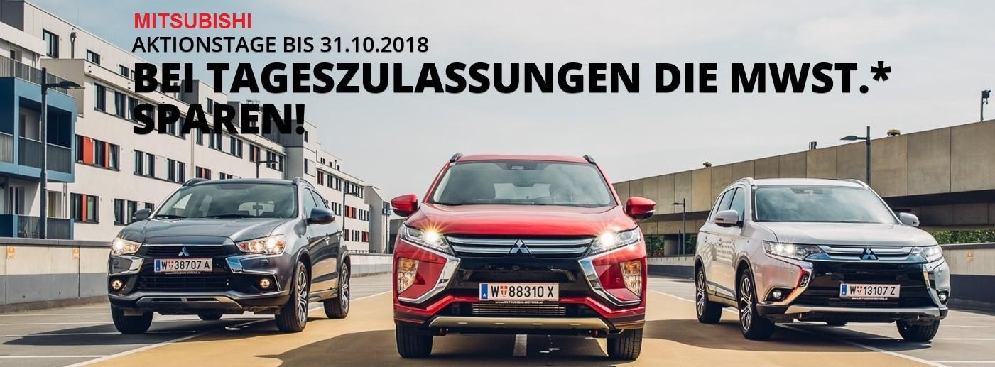 Mitsubishi Tageszulassungen bei HWS || Auto Knoll – Langenwang und Kapfenberg in Wien