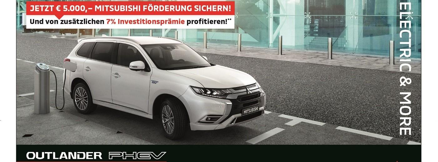 Outlander Investitionsprämie bei Autohaus Knoll in Langenwang und Kapfenberg