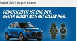 Suzuki Swift Jacques Lemans Edition