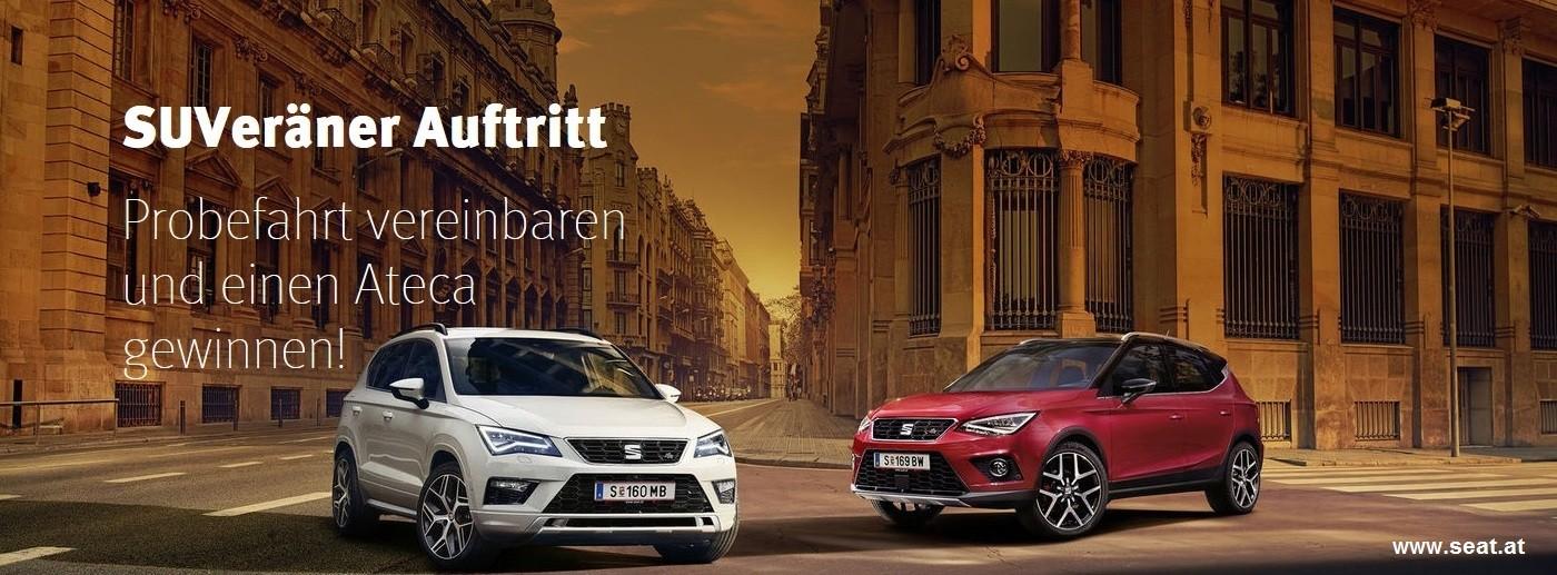 Seat Ateca Probefahren bei HWS || Auto Knoll – Langenwang und Kapfenberg in Wien