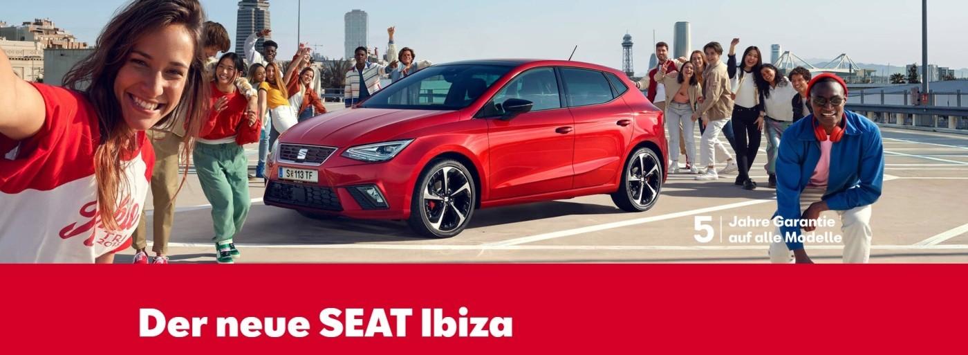 Seat Ibiza NEU bei Autohaus Knoll in Langenwang und Kapfenberg